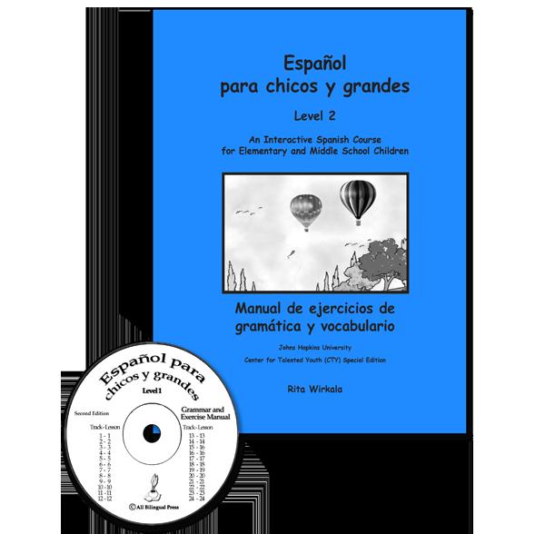Español-para-chicos-y-grandes.-Exercise-Manual-CD-2