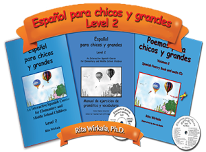 An Interactive Spanish Course for Elementary and Middle Schools (Level 2)
