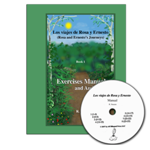 Los Viajes de Rosa y Ernesto, Volume 1: Exercises manual only (Free audio download)