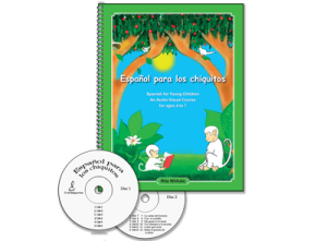 Español para los chiquitos, Textbook and 2 audio CDs