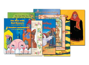 Hoopoe Collection Multi-pack of Teaching Stories Spanish and Bilingual Books and Audio Book*