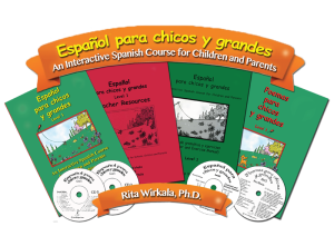 An Interactive Spanish Course for Children and Parents (Level 1)